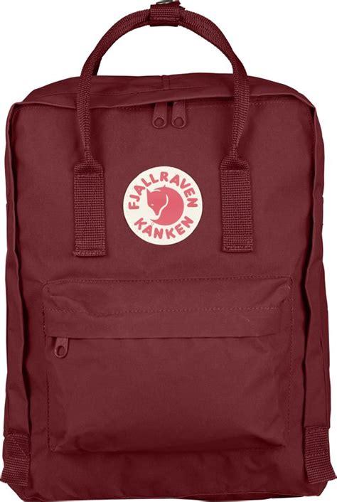 Fjallraven Kanken Tas Zwart bol fj 228 llr 228 ven kanken backpack 16 liter rood