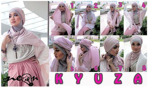 tutorial jilbab kantong tutorial jilbab cara memakai pashimina dengan casual