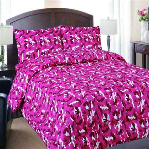 pink camouflage bedding queen pink camouflage reversible comforter