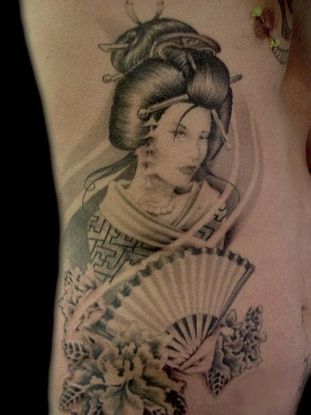 geisha fan tattoo designs geisha fan tattoo memes