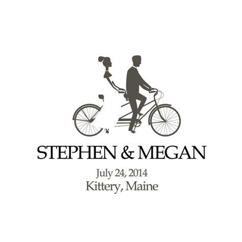 Wedding Bike by Bicycle Wedding Tote Bag Personalized Wedding Tote Bag
