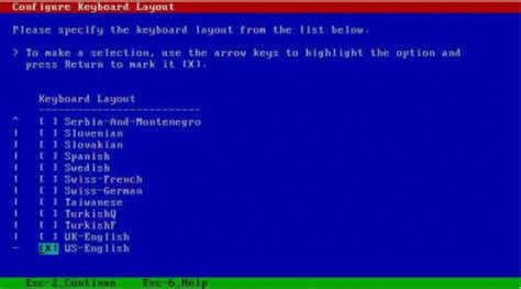 keyboard layout menu how to install oracle solaris 10 using local or remote
