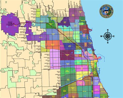 chicago map of neighborhoods new to the city here s a helpful chicago neighborhood map