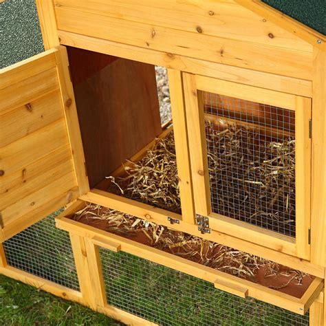 una gabbia per polli pollaio gabbia per conigli polli galline con deposito uova
