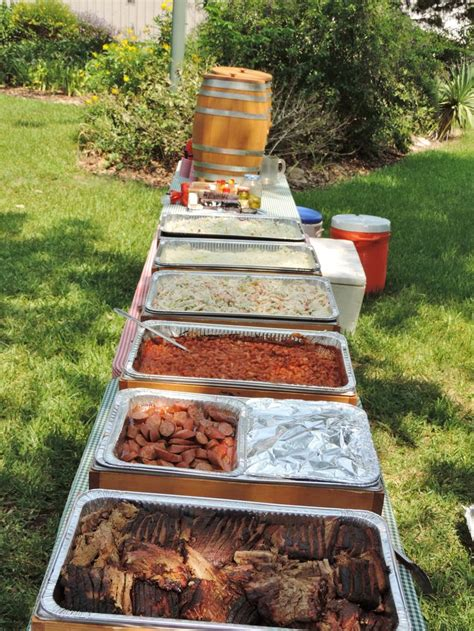 backyard cookout best 25 bbq catering ideas on pinterest wedding buffet