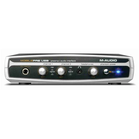 Sound Card Usb M Audio m audio mobile pre usb sound card usb interfaces from inta audio uk