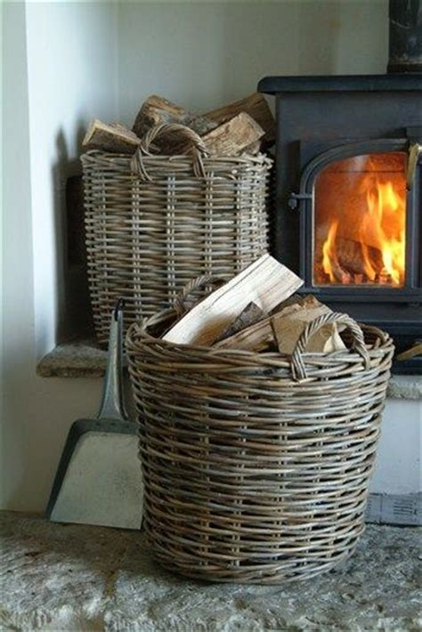 wood baskets baskets 2 pinterest fireplaces the
