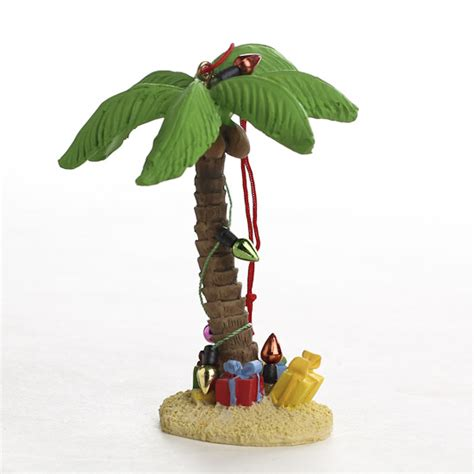 miniature christmas palm tree ornament christmas