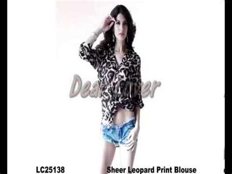 Malto Top Blouse Hq 1 clubwear top sheer leopard print blouse wholesale on