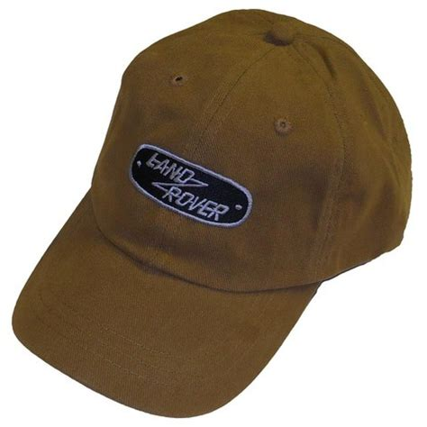 classic land rover hat brown