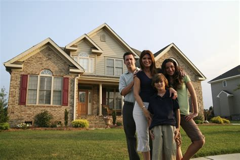 Family In Front Of House by Building Wealth With Home Ownership Part Ii The