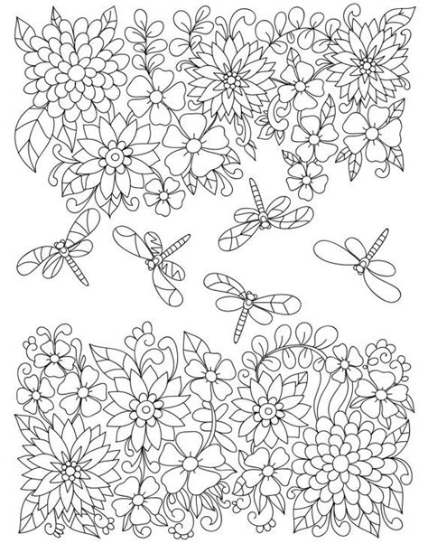 garden mandala coloring pages 1179 best images about adult colouring flowers on