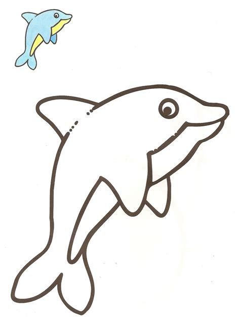 imagenes para dibujar vacanes image gallery delfin dibujo