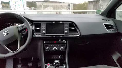 seat ateca interior seat ateca 2016 interieur