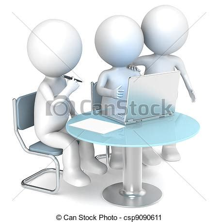 can stock photo clipart clipart of working together 3d human characters
