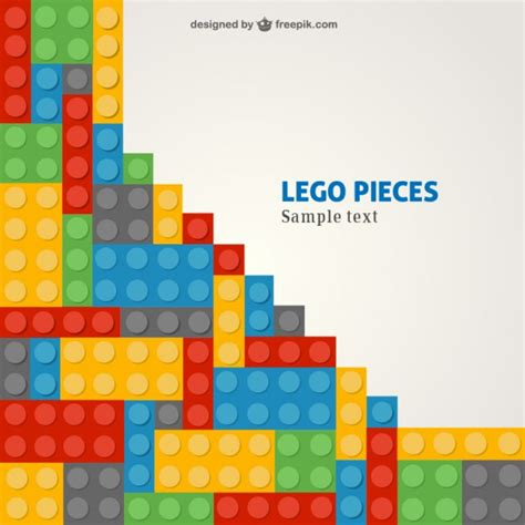 Lego Pattern Ai | lego template vector free download