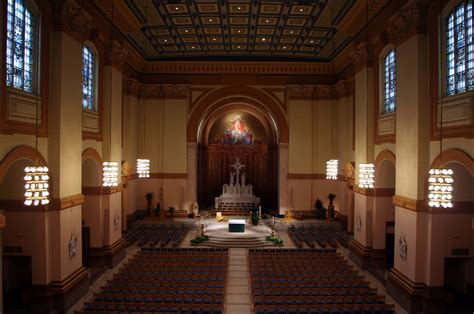 Amazing Churches Tyler Tx #7: Saints_Peter_%26_Paul_Cathedral_(Indianapolis,_Indiana),_interior,_nave_view_from_the_organ_loft.jpg