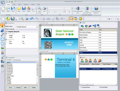 excel id card template how to make id card in excel ms excel 2007 2010