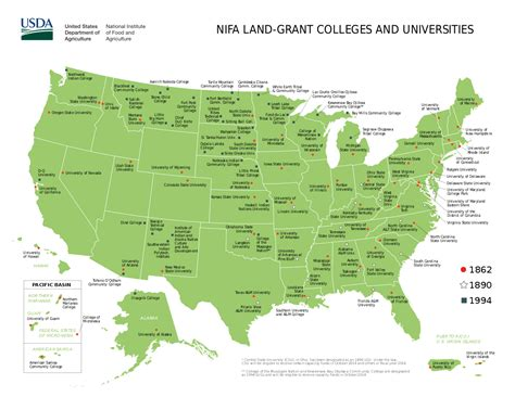 Scholarship Grants For Mba Programs In The Usa by List Of Land Grant Universities