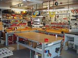Garage Shop Design Workbench Envy Toolmonger