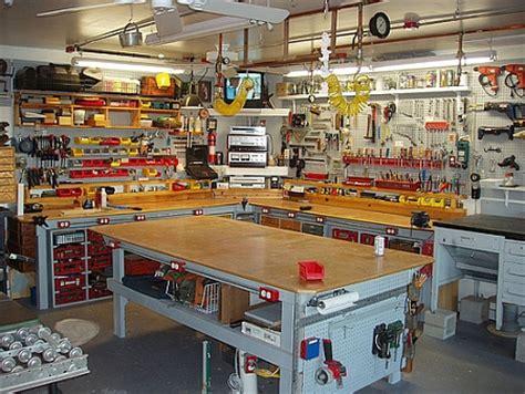 home garage workshop workbench envy toolmonger