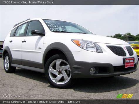 2008 Pontiac Vibe by Frosty White 2008 Pontiac Vibe Slate Interior