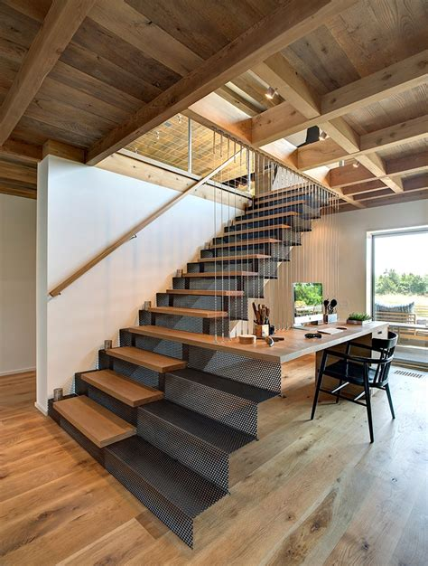 The Stairs Desk by Design Detail A Stair Desk Combination Contemporist