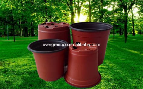 buy plant pots plastic plant container cheap flower pot black plastic