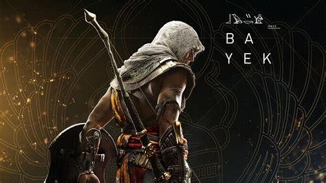 assassins creed origins wallpaper bayek assassin s creed origins 4k 8k games 7760