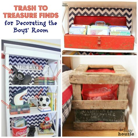 trash to treasure ideas home decor trash to treasure decorating in the boys bedroom the happy housie