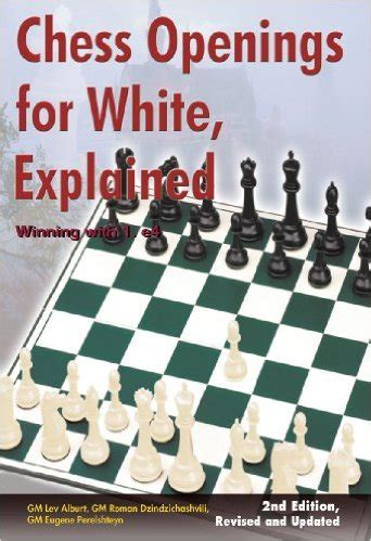chess openings books chess openings for white explained winning with 1 e4