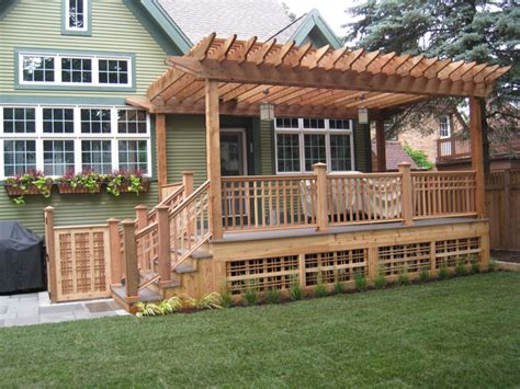 woodwork pergola over deck plans pdf plans
