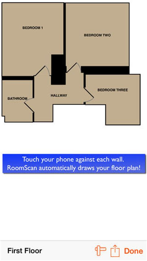 roomscan the app that draws floor plans by itself on the