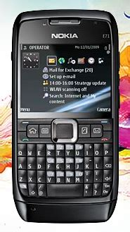 Nokia E71 Black Crome nokia shows nokia e71 in and black for europe