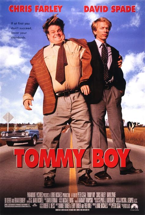 film comedy picture david spade tweets early tommy boy poster when called