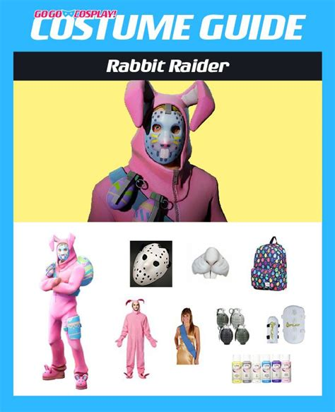 rabbit raider costume  fortnite diy guide