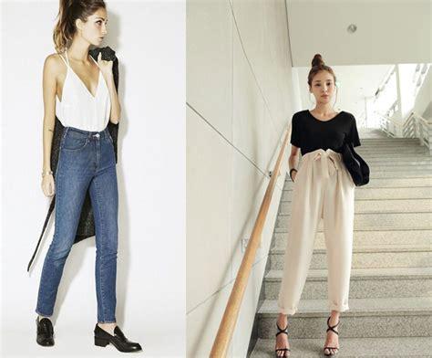 sedere largo pantaloni a vita alta come si mettono idee per l uso