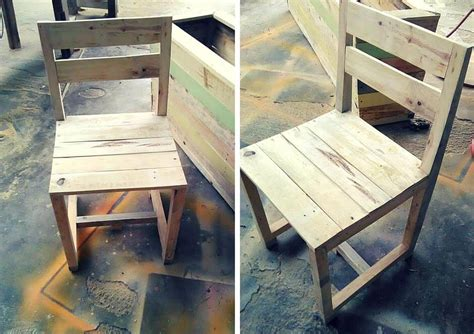 Diy Wood Chair by Pallet Chair 101 Pallets