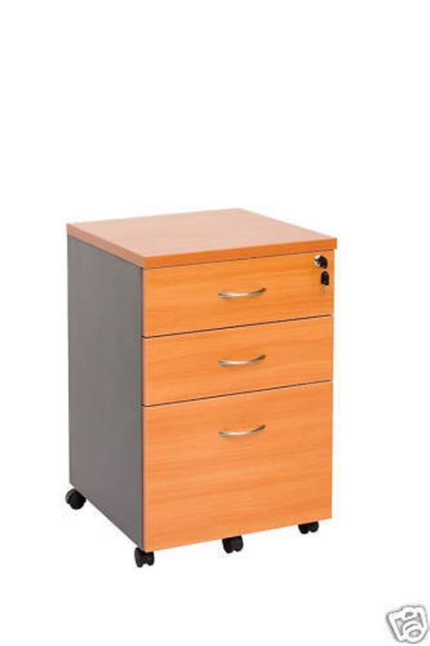 Office Desk With Locking Drawers Mobile Pedestal 2 Drawers And File With Lock Filing