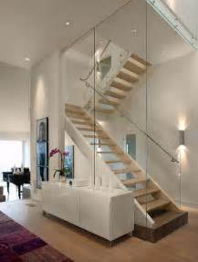 Modern Staircase Design 20 Glass Staircase Wall Designs With A Graceful Impact On The Overall Decor
