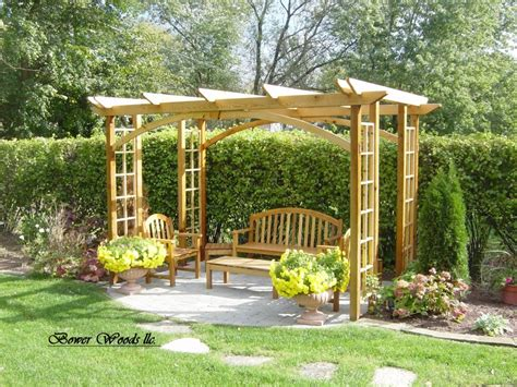 backyard creations gazebo gazebo bench designs for the home garden pinterest