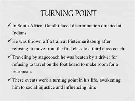 Biography Of Mahatma Gandhi In Points | mahatma gandhi