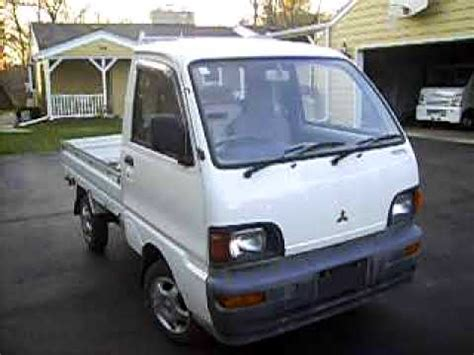 mitsubishi mini trucks badgerland mini trucks inventory 1995 mitsubishi minicab