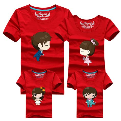Matching Shirts In Stores Aliexpress Buy 1pcs Family Look T Shirts 16 Colors