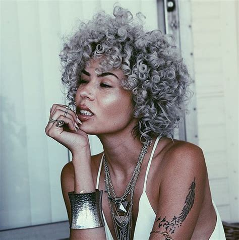 american silver hair styles 9 naturals with dope gray natural hair on instagram natural hair inspiration pinterest