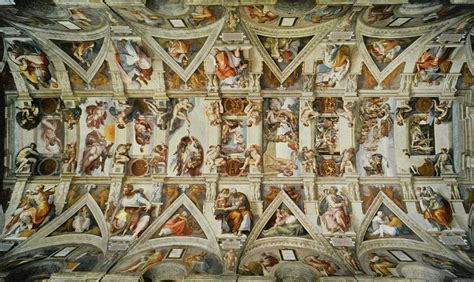 Sistine Chapel Ceiling Layout by Honors Program 1501 Gt Ruvoldt Gt Flashcards Gt Slide Lists 9 And 10 The Renaissance