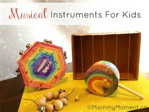 Musical Instruments Crafts For Kids - diy musical instruments with green kid crafts mommy moment