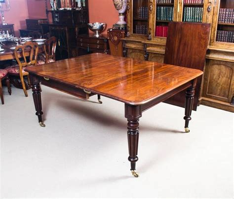 antique dining room table styles antique regency mahogany gillows style dining table circa