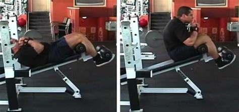 decline bench situps the gallery for gt decline dumbbell sit ups