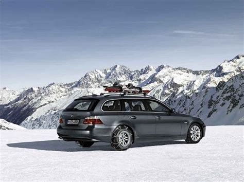 bmw snow chains bmw 5 series touring aerodynamic package snow chains
